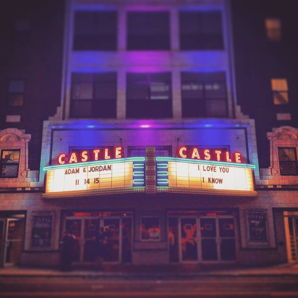 The Castle Theatre Wedding