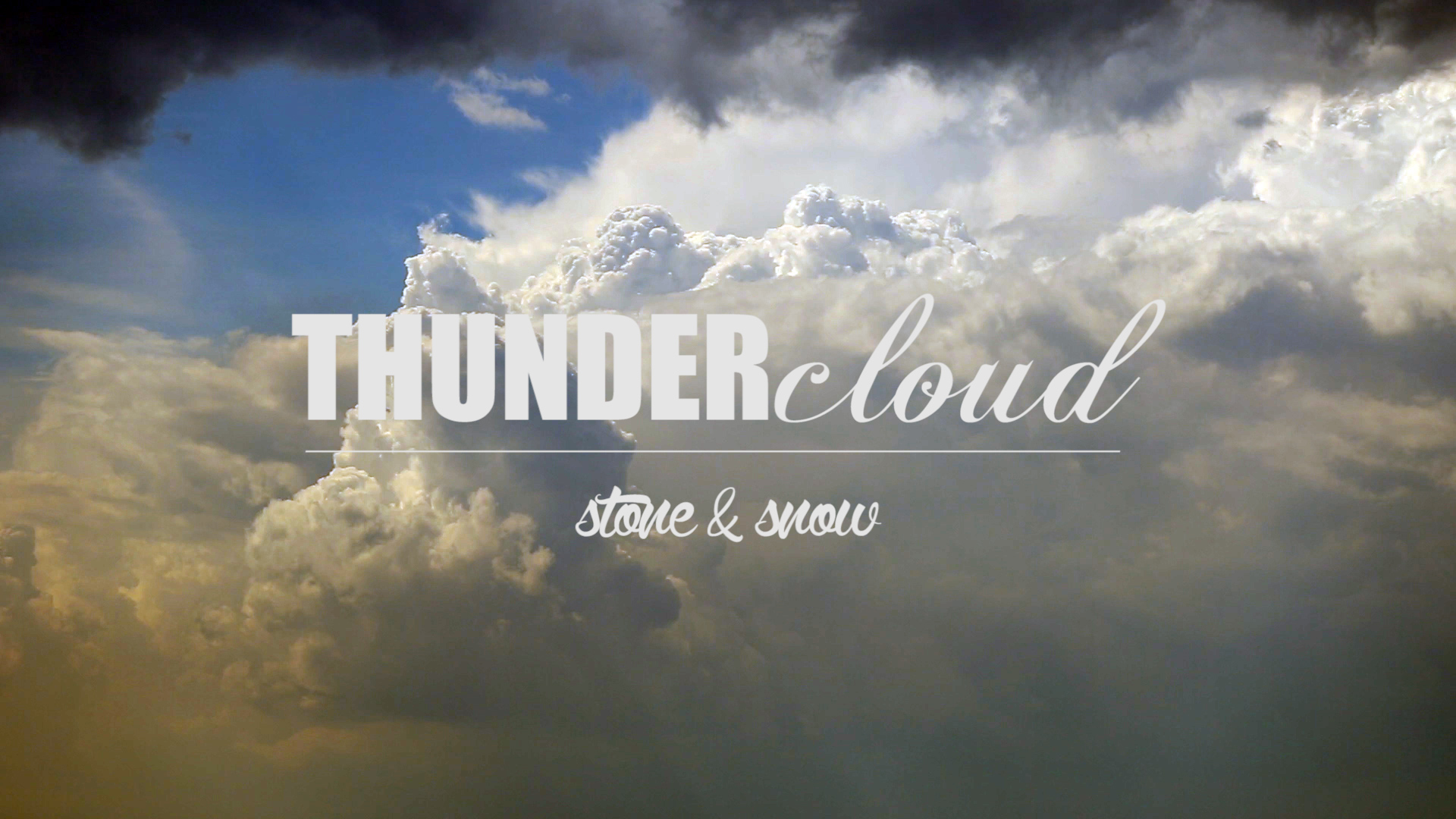 Thundercloud – New Music Video!