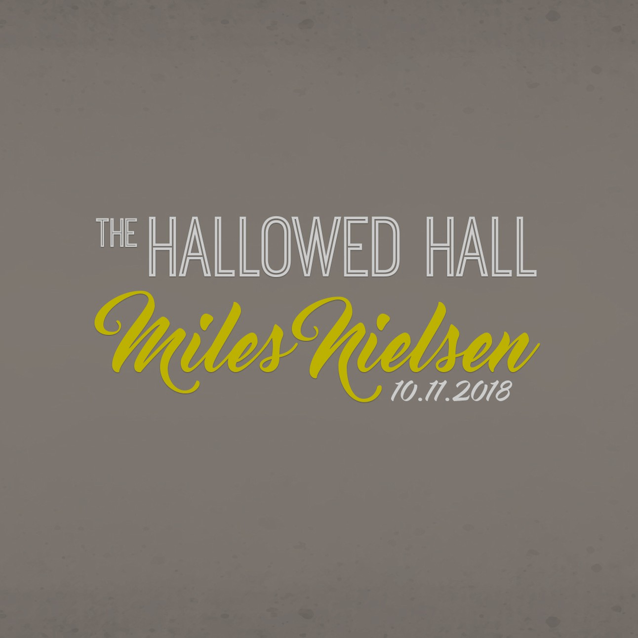 Introducing The Hallowed Hall!