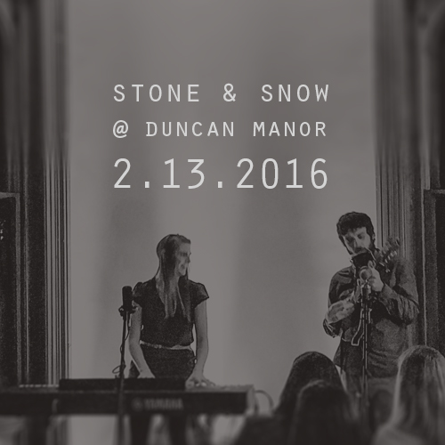 Duncan Manor House Concert: Feb 13th!