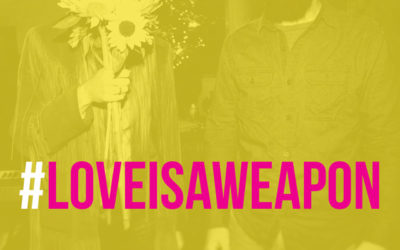 """""""Love is a Weapon"""" single available NOW!"""
