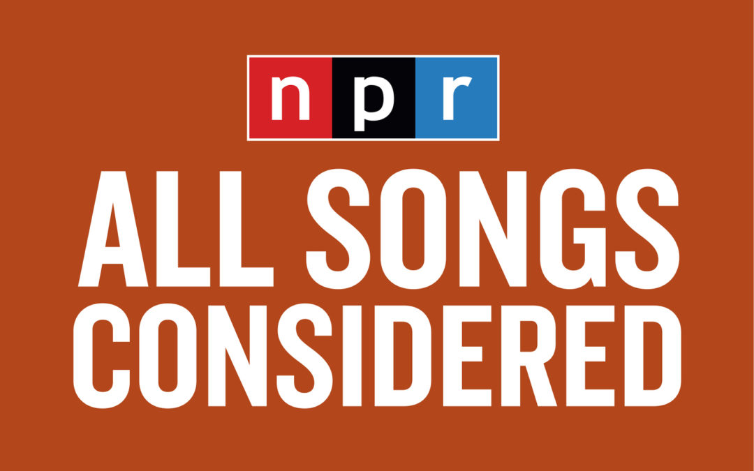 New Press: NPR Tiny Desk Mention!